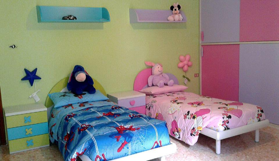 Camerette Per Neonati Rosa : Figli di sesso opposto come arredare la cameretta mondo camerette