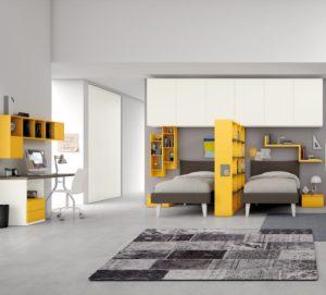 Secondo figlio in arrivo dividi in due la cameretta mondo camerette - Dividere una camera in due ...