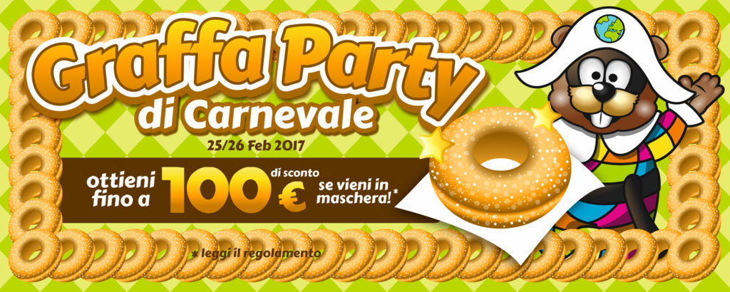 carnevale - graffa party