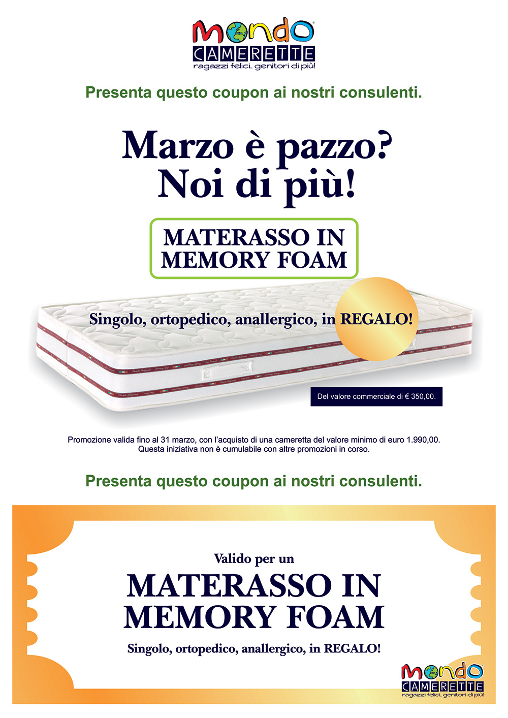 coupon-materasso