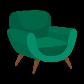 poltrana-verde
